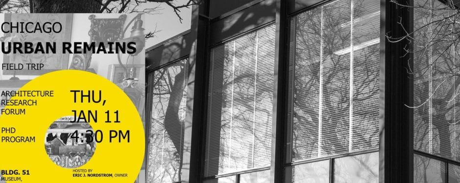 bldg. 51 museum hosts iit's college of architecture phd program student field trip