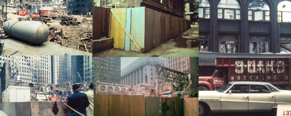 final moments of chicago stock exchange building captured by john vinci