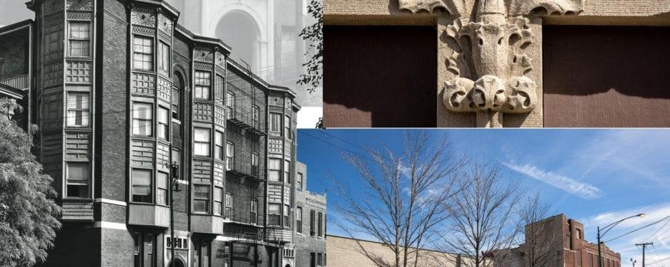 adler & sullivan's 1892 william loeb apartment then and now