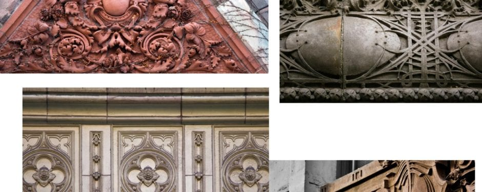 city of chicago building terra cotta: a visual study of ornament from the great chicago fire to the great depression