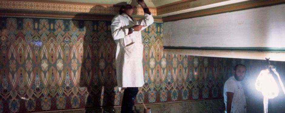 reconstruction of adler and sullivan's trading room through john vinci's kodachrome slides