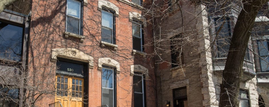 19th century three-story residence on dickens issued demolition permit