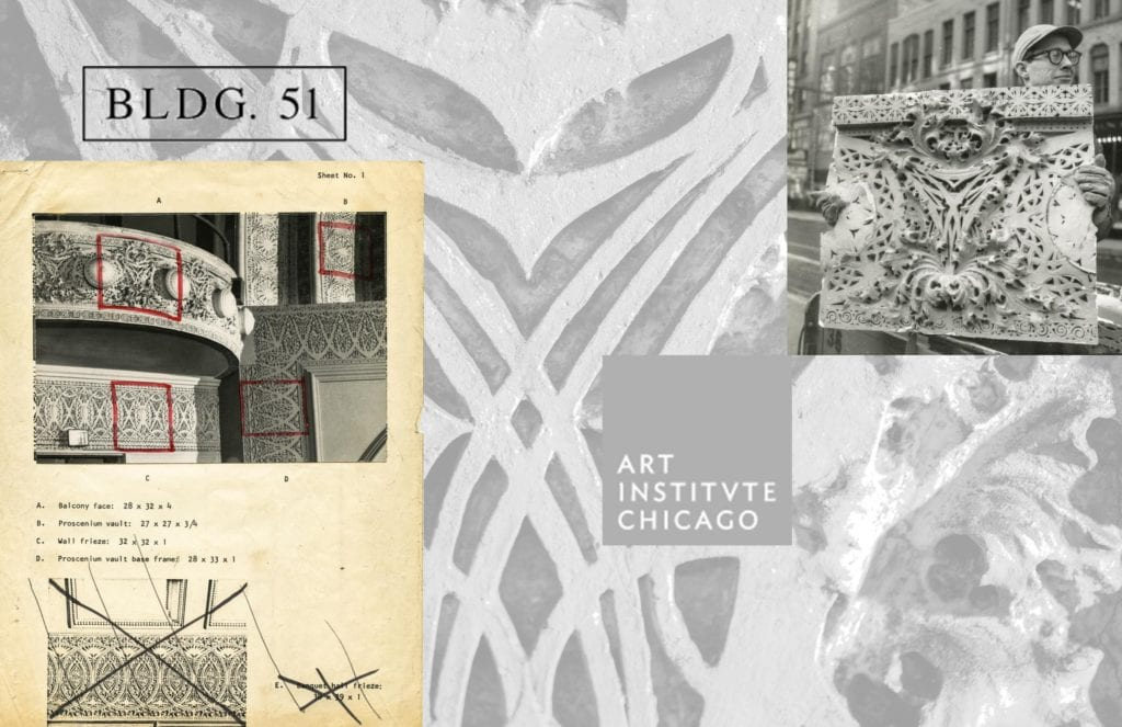 a collaboration between the bldg. 51 archive and chicago art institute's ryerson & burnham archive