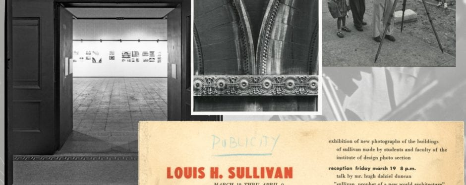 "bldg. 51 museum secures large collection of original institute of design ""sullivan project"" photographs from 1956 exhibit"