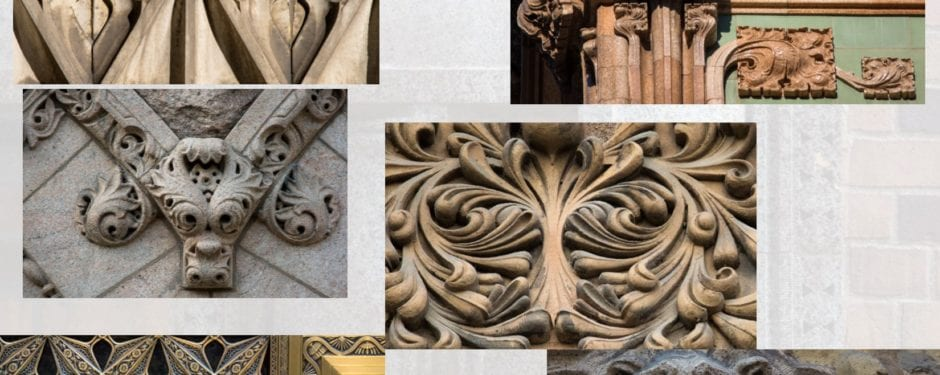 photographic documentation of chicago's late 19th and early 20th century building ornament revisited