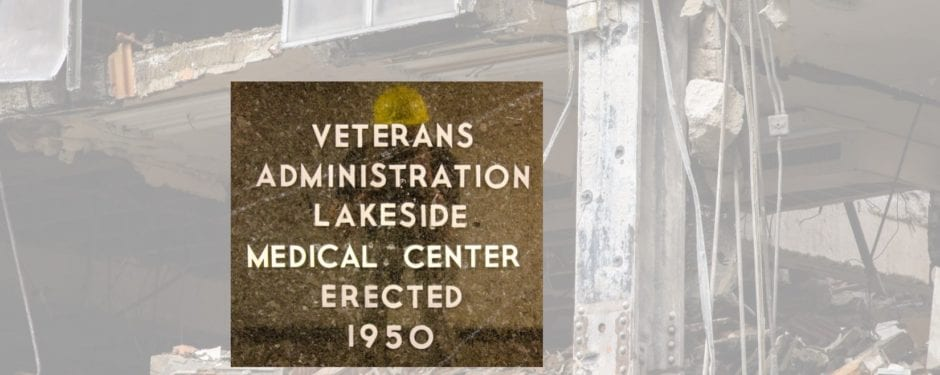 a look back at the 2008 demolition of veterans administration lakeside hospital