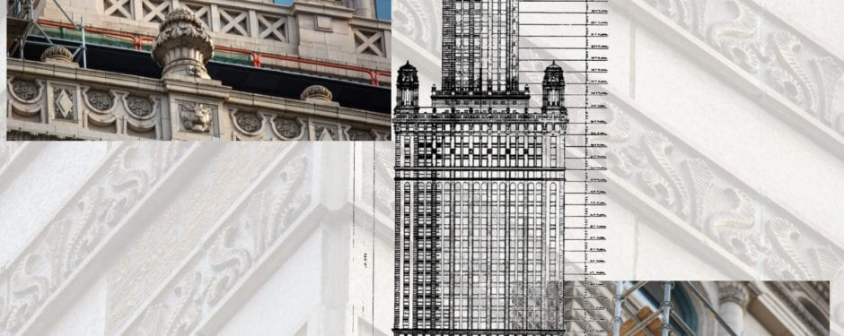 giaver and dinkelberg's jewelers building terra cotta restoration nearing completion