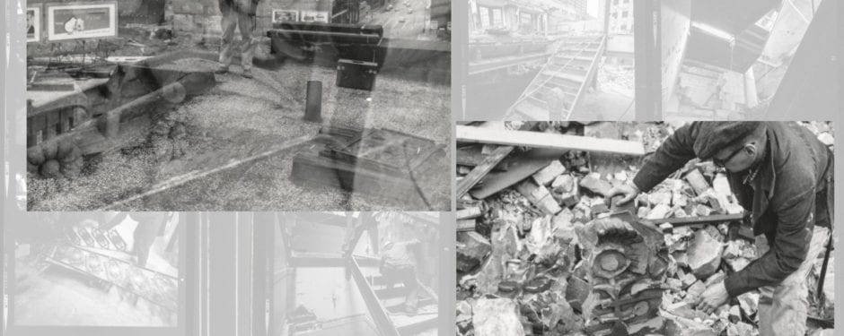 a look back at previous posts chronicling richard nickel's documentation of building demolition