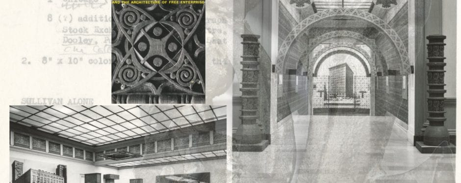 "photographic images of daniel brenner's 1956 ""louis sullivan architecture of free enterprise exhibit"" rediscovered"