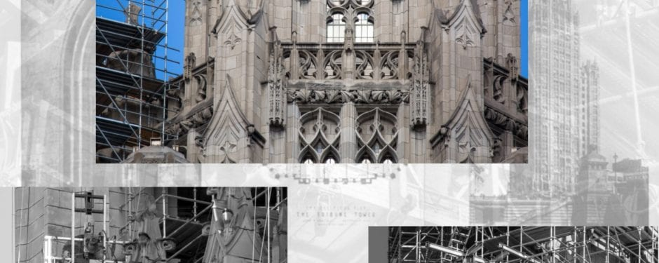 latest images documenting restoration of howells and hood's 1925 tribune tower