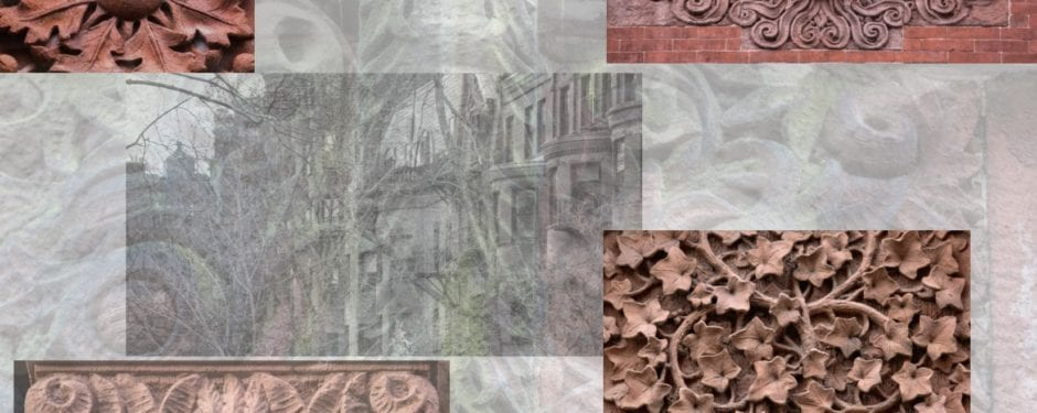 photographic survey of 19th century architectural ornament in boston's back bay
