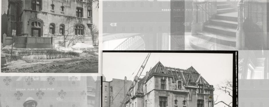 where time stood still: a visual record of william borden residence shortly before its demolition in 1962