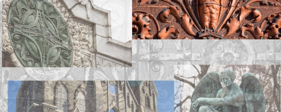 milwaukee over the weekend: 19th century building ornament, cottages, sullivanesque terra cotta, and a graveyard