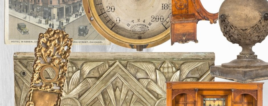 latest architectural ornament, industrial and medical furniture, and museum-quality artifacts added to urban remains website